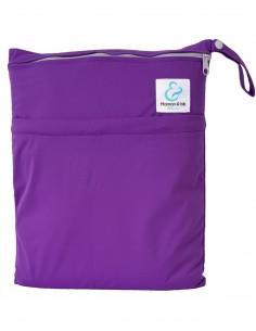 Maman et bb Nature Sac imperm/éable pour couches lavables 2 poches anse /à pression Exotic
