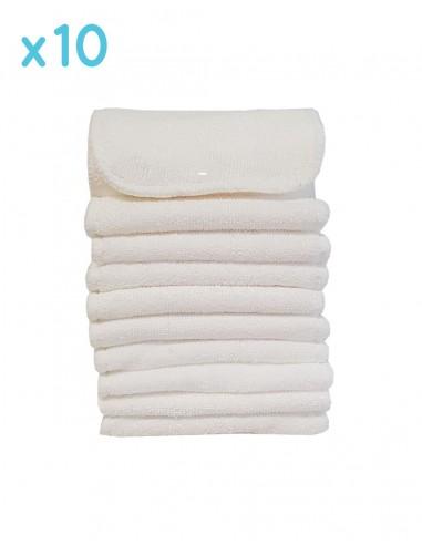 inserts pour couches lavables avec pression