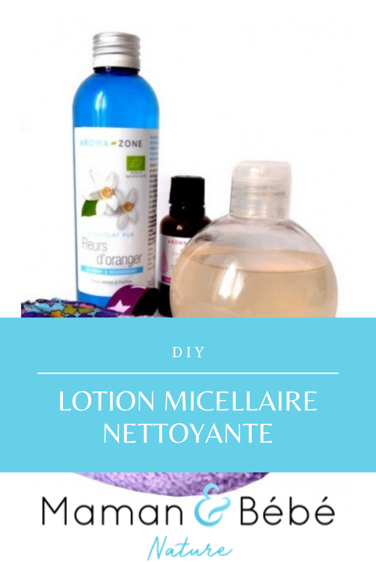 DIY Lotion micellaire nettoyante