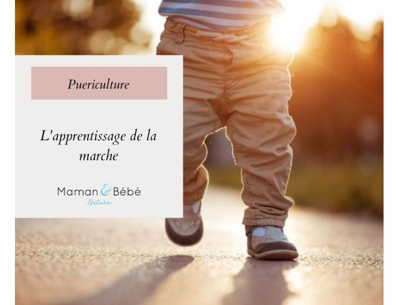 L'apprentissage de la marche