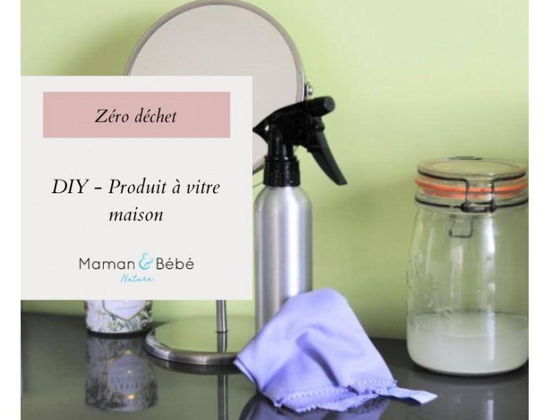 DIY - Produit à vitre maison