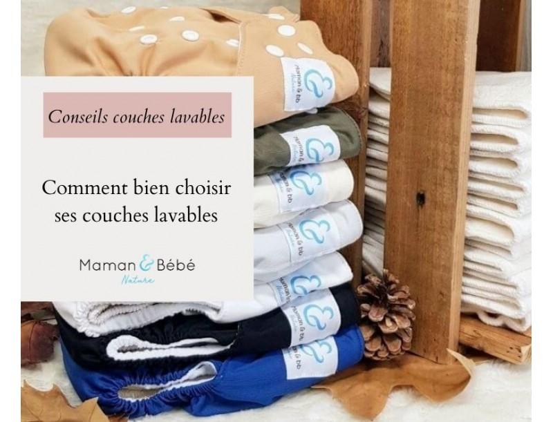 Comment bien choisir ses couches lavables ?