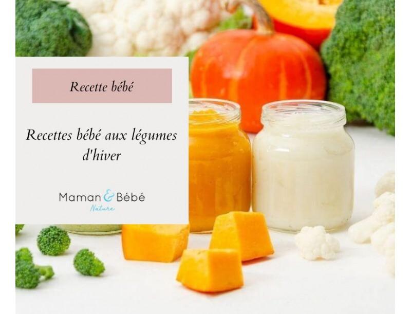Recettes pour bébé aux légumes d'hiver
