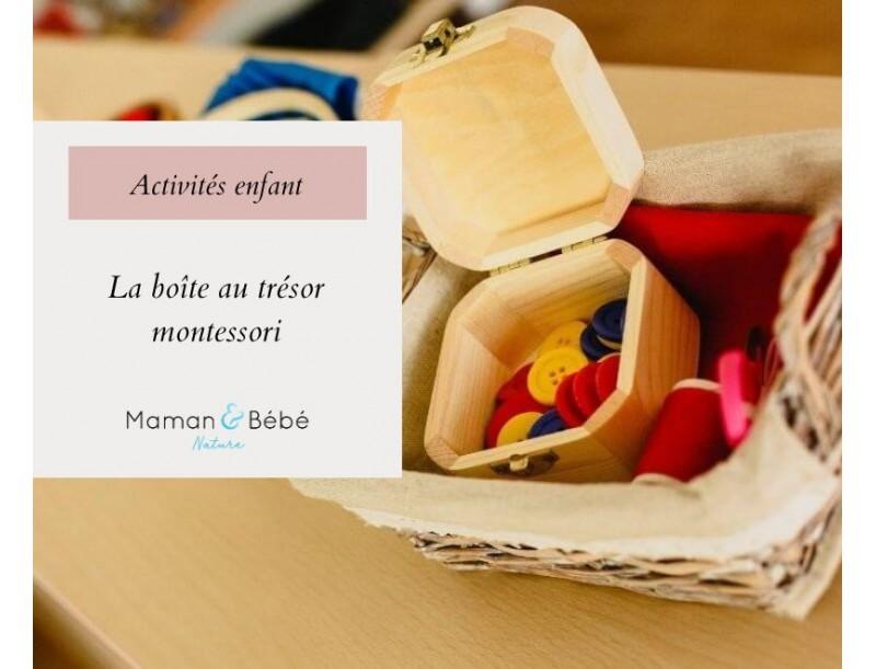 Les boîtes au trésor Montessori