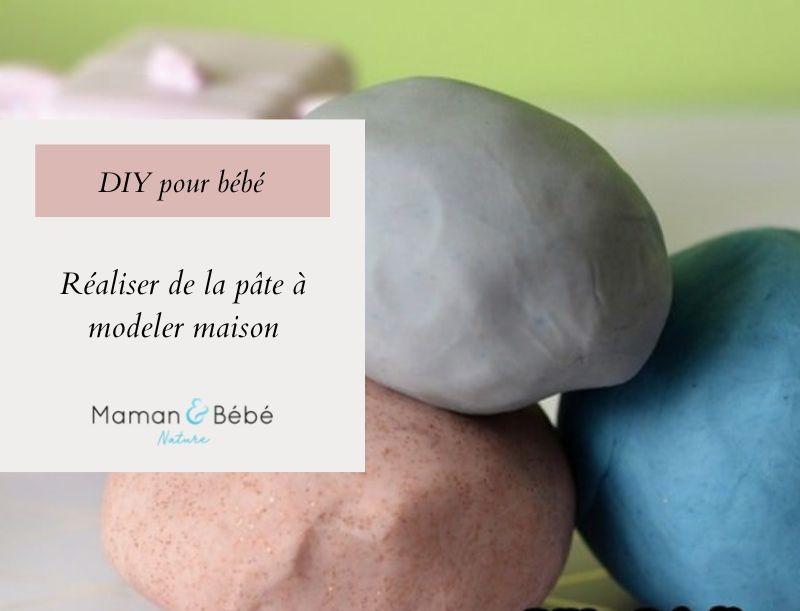 DIY - Réaliser de la pâte à modeler maison