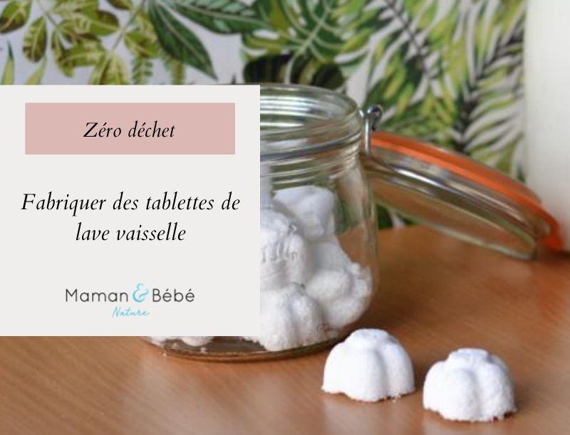 DIY - Fabriquer des tablettes de lave-vaisselle