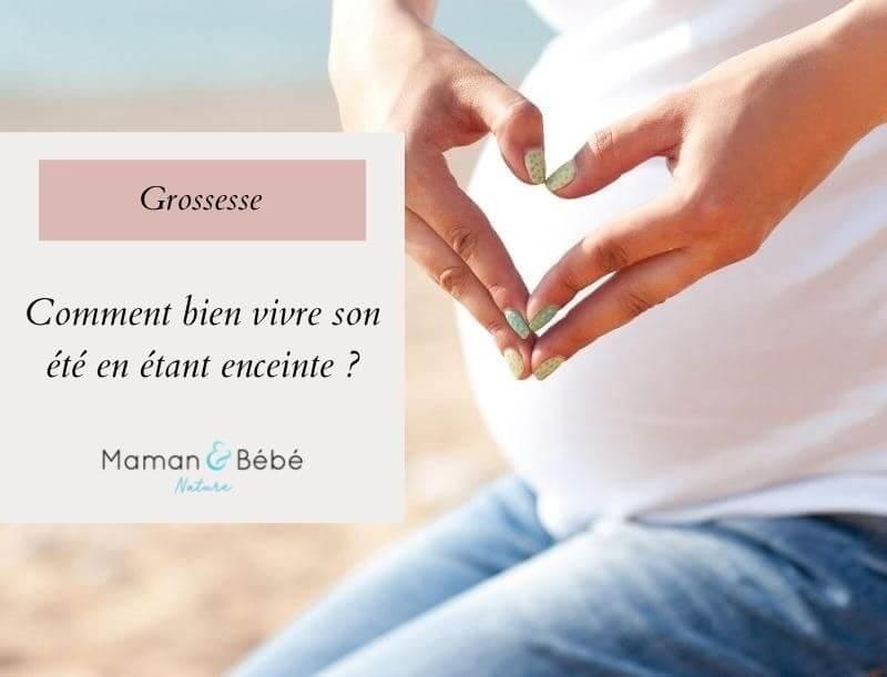Comment bien vivre son été en étant enceinte ?