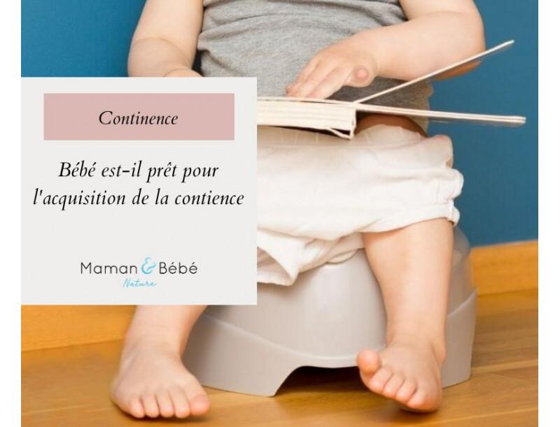 Bébé est-il prêt pour l'acquisition de la continence ?