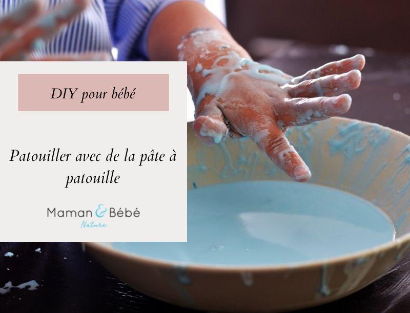 DIY - Patouiller avec de la pâte à patouille