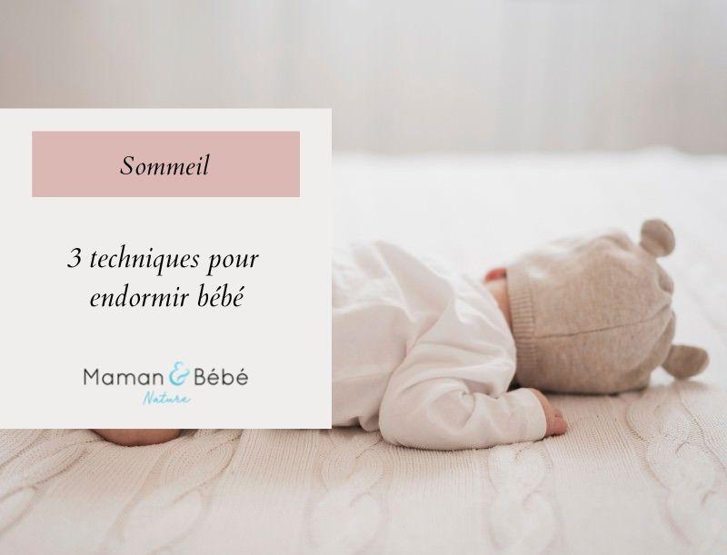 3 techniques de parents pour endormir bébé
