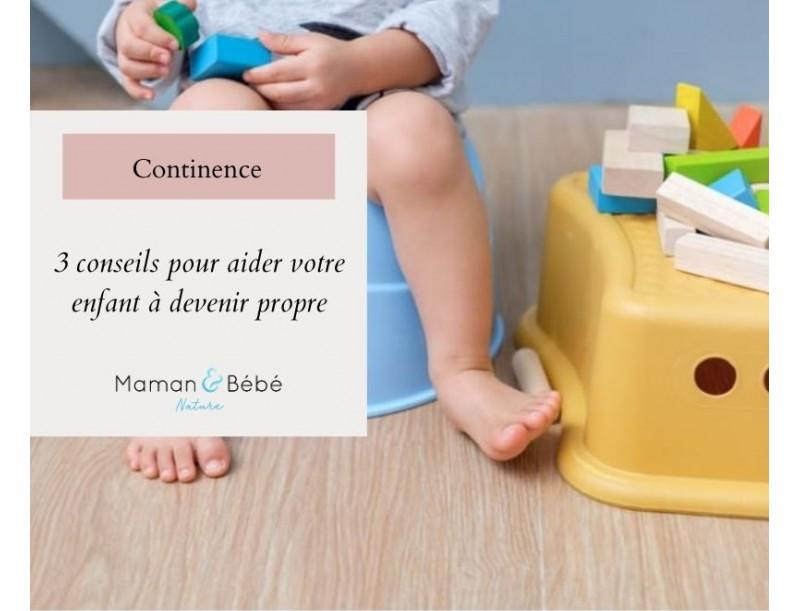 3 conseils pour aider votre enfant à devenir propre