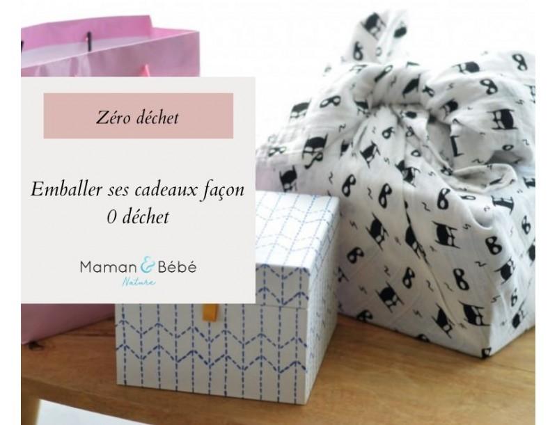 Emballer ses cadeaux façon zéro déchet
