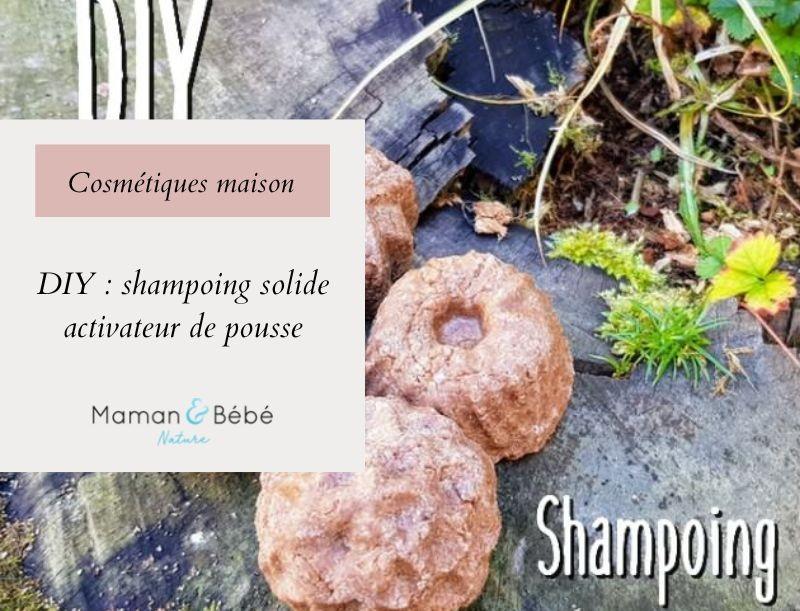 DIY : Shampoing solide stimulateur de pousse